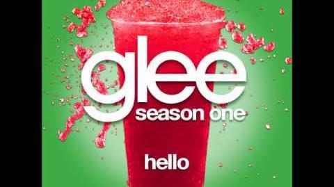 Glee - Hello (DOWNLOAD MP3 LYRICS)