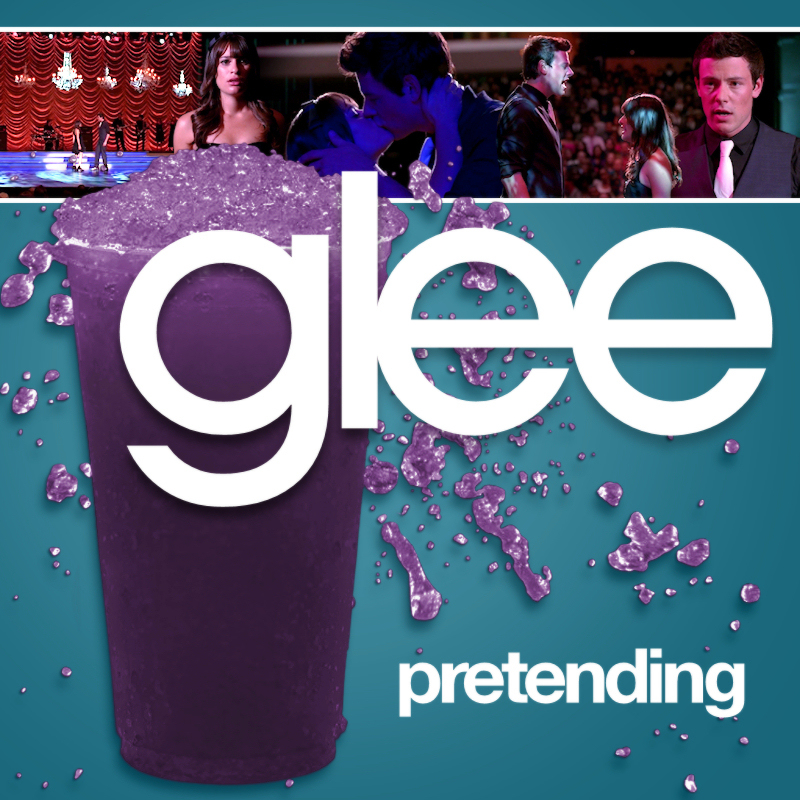glee pretending