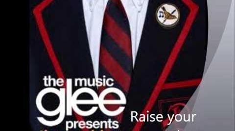 Raise your glass - Glee's the Warblers