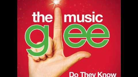 Glee - Do They Know It's Christmas (Acapellaish Stripped Down)