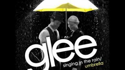 Glee - Singing in the rain Umbrella