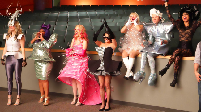 Glee Gaga