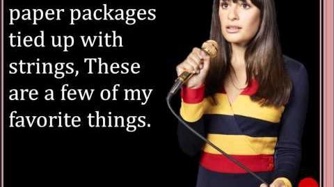 My Favorite Things Glee Lyrics-0