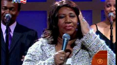 """Aretha Franklin - """"Respect"""" @ Early Show"""