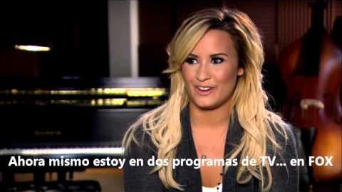 Glee Welcomes Demi Lovato (A Katy or a Gaga) HD Subtitulado
