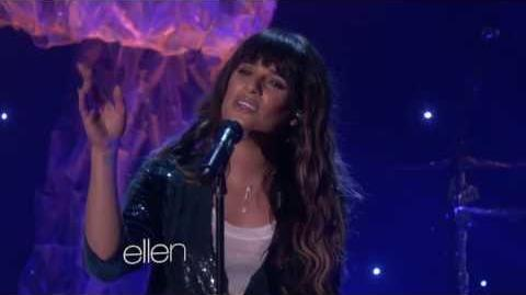 Lea Michele - On My Way Live (@ The Ellen Show)
