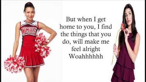 Glee - A Hard Day's Night - Lyrics