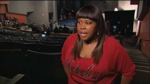 """Amber Riley """"Michael"""" Interview"""