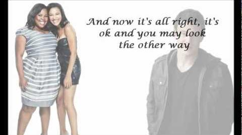 Glee Cast- Stayin' Alive (with lyrics)-0