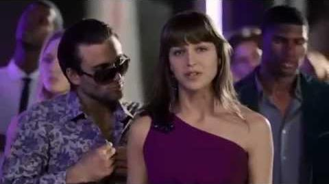 Melissa Benoist at Tampax Radiant Commercial 1