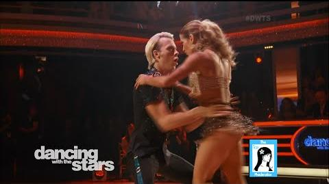 WEEK 3 DWTS 20 Latin Night - Riker Lynch & Allison LIVE 3-30-15