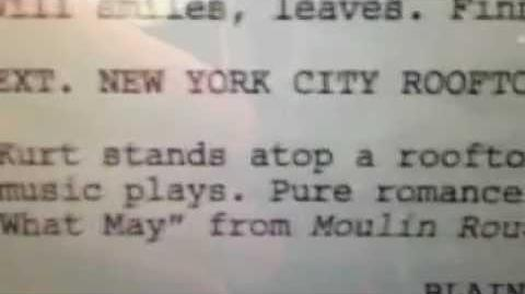 Glee - Come What May 4x15 (Klaine Script Preview)-0