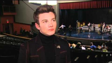 "Chris Colfer ""Michael"" Interview"