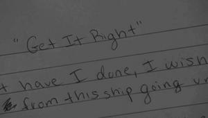 Rachel escribiendo Get It Right