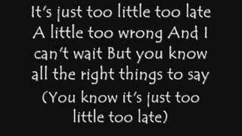 Jojo-Too Little Too Late *With Lyrics*