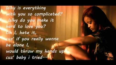So complicated lyrics