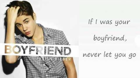 Justin Bieber - Boyfriend (Lyrics)