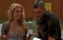 Puck and Quinn food fight♥