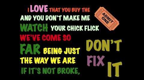 Austin & Ally - Not A Love Song Lyric Video (HD)