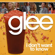 Glee - i dont want to know