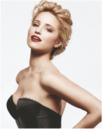 Diana agron as madonna