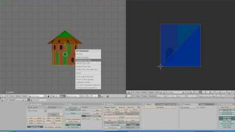 Making a hut Blender tutorial