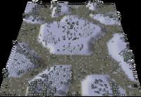 Frozen Winter Map