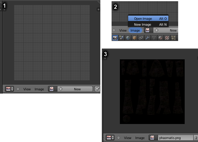 Previewing textures in Blender