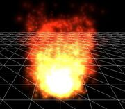 Particle sys fire