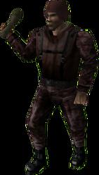 Baton Soldier