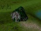 Object mossy rock