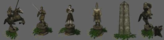 Object statues