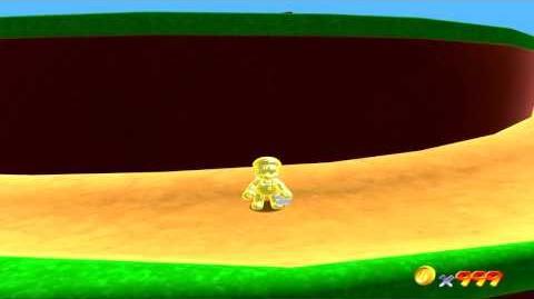Super Mario 64 Remake - Glitch - Weird Slopes