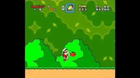 Glitch de transformación infinita (Super Mario World)