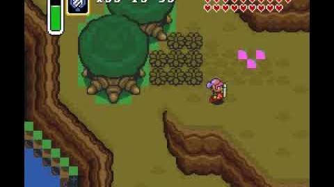 Mundo de la Luz con gráficos erróneos ~ Zelda A Link to the Past