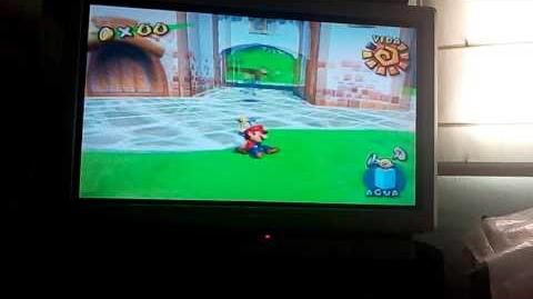 Glitch de la cámara - Super Mario Sunshine-0