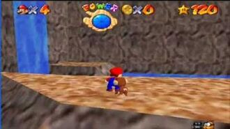 Super Mario 64 - Monkey Glitch?