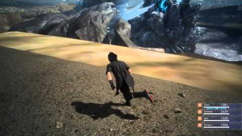 Final Fantasy XV Out of Bounds Glitch