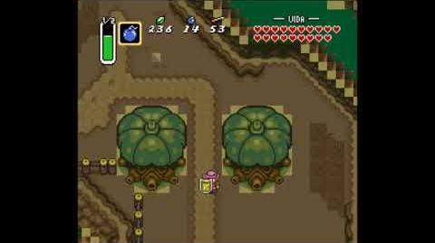 Glitch Zelda A Link to the Past ~ Descenso por la montaña de la muerte