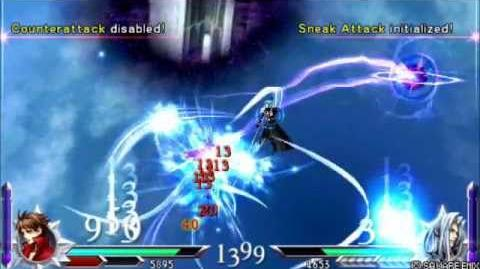 "Dissidia Duodecim 012 GLITCH Sephiroth's ""Eternal Gate of Hell"""