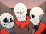 Sans, Papyrus, and Gaster vs Bete