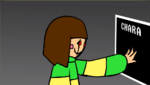 Chara using FILE 0 ability