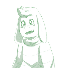 A sketch of Asriel