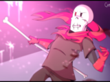 Papyrus vs Pink Creatures (Battle)