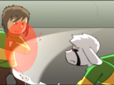 Chara vs Asriel (Battle)
