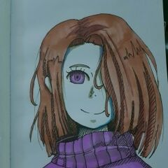 Inverted Color Traditional Art of Amber