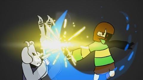 Chara vs Asriel