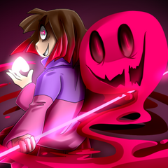 One of Camila's collab drawings on the 1st anniversary of Glitchtale.