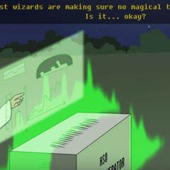 Kindness wizards using kindness magic