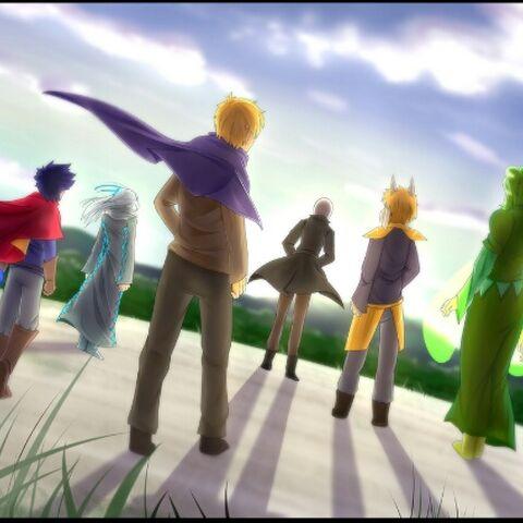 Kanashi with other wizards